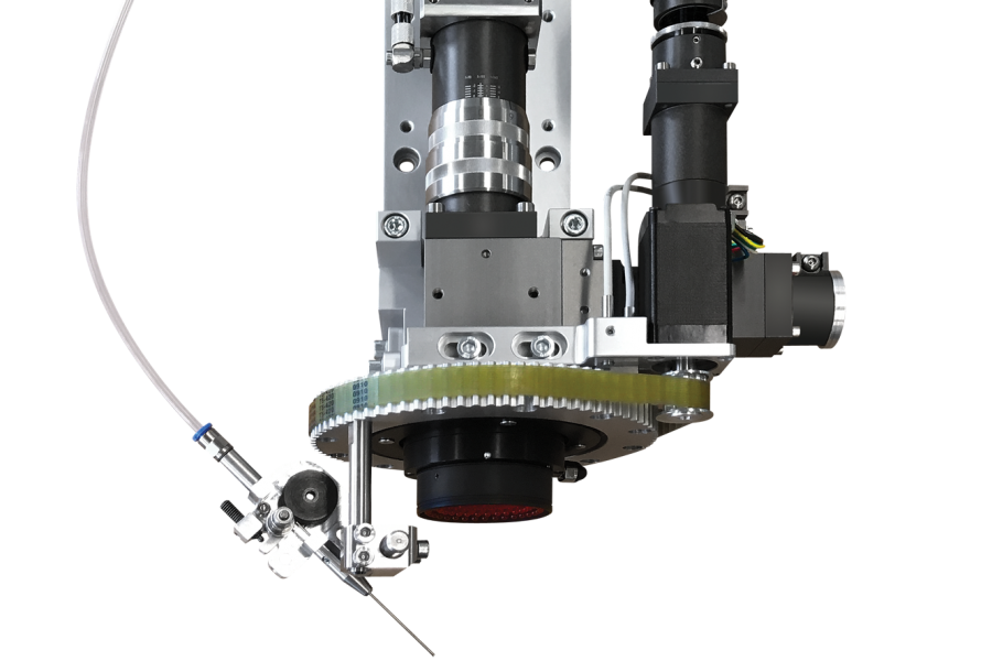 MLH45 laser head for soldering robots